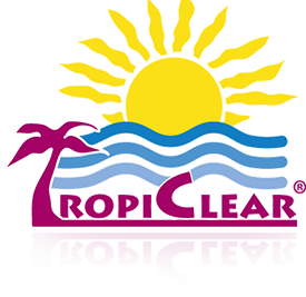 TropiClear Swimming Pool and Spa Maintenance Chemicals and Equipment